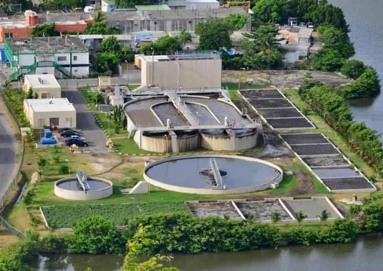 20140625 Sewage Plant Illidge Road sewage plant
