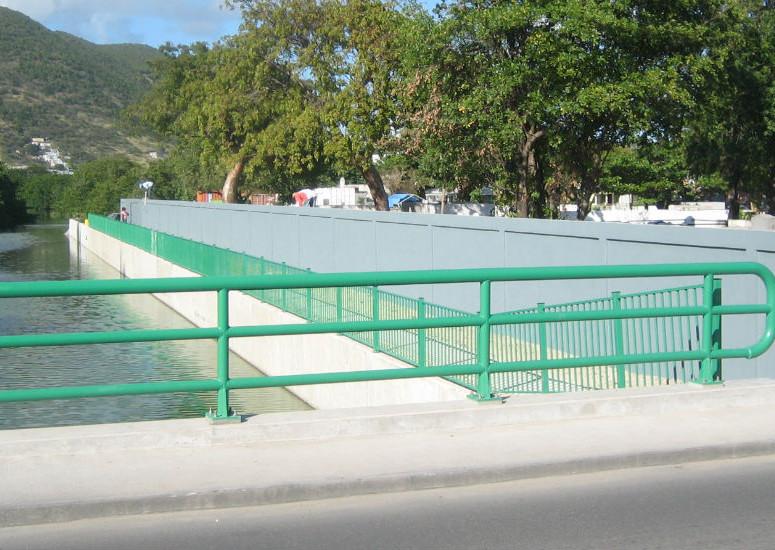 Bridge afte from roadside